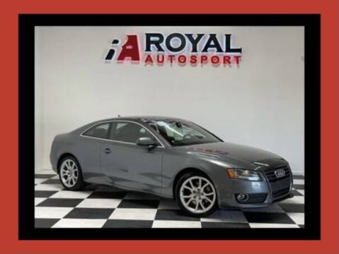 2012 Audi A5 for sale at Royal AutoSport in Sacramento CA
