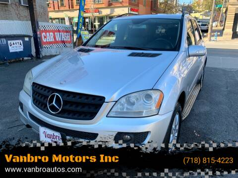 2006 Mercedes-Benz M-Class for sale at Vanbro Motors Inc in Staten Island NY