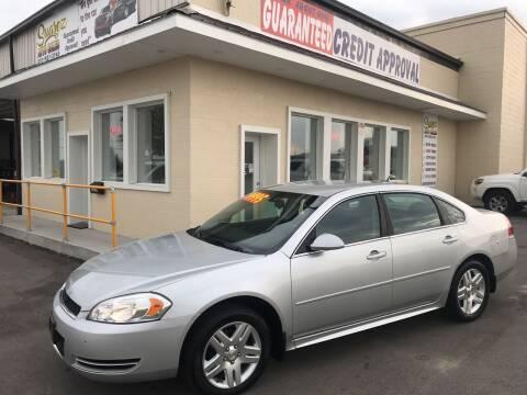 2013 Chevrolet Impala for sale at Suarez Auto Sales in Port Huron MI