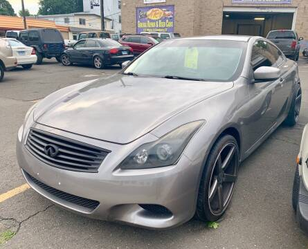 2008 Infiniti G37 for sale at AR's Used Car Sales LLC in Danbury CT
