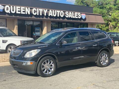 2011 Buick Enclave for sale at Queen City Auto Sales in Charlotte NC