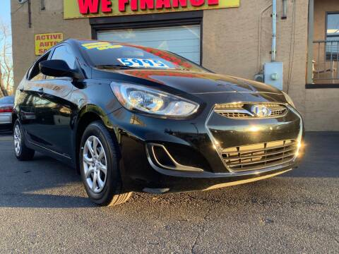 2012 Hyundai Accent for sale at Active Auto Sales Inc in Philadelphia PA