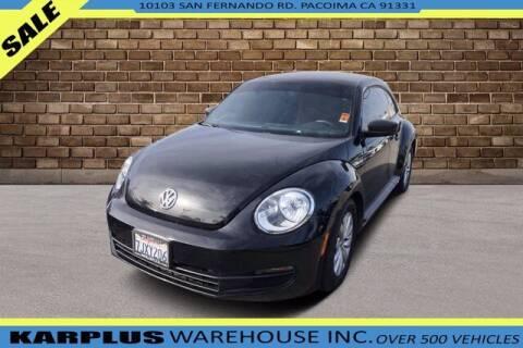 2015 Volkswagen Beetle for sale at Karplus Warehouse in Pacoima CA