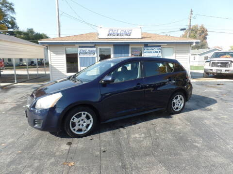 2009 Pontiac Vibe for sale at DeLong Auto Group in Tipton IN