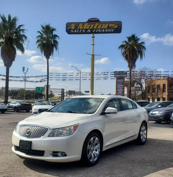 2010 Buick LaCrosse for sale at A MOTORS SALES AND FINANCE in San Antonio TX