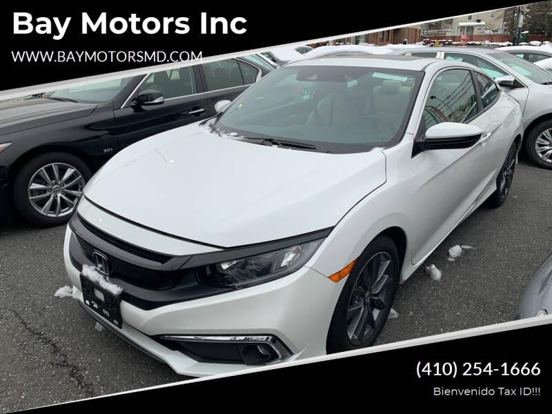 2019 Honda Civic for sale at Bay Motors Inc in Baltimore MD