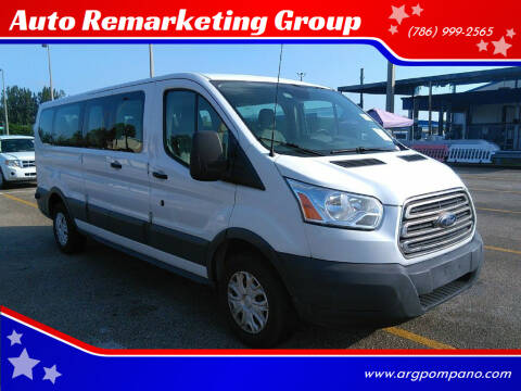 2015 Ford Transit Passenger for sale at Auto Remarketing Group in Pompano Beach FL