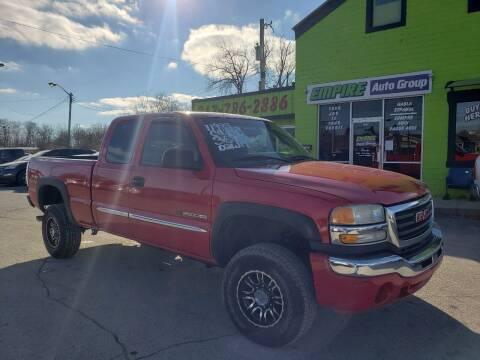 2005 GMC Sierra 2500HD for sale at Empire Auto Group in Indianapolis IN