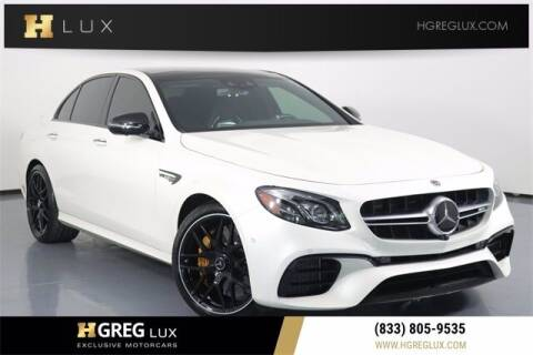 2019 Mercedes-Benz E-Class for sale at HGREG LUX EXCLUSIVE MOTORCARS in Pompano Beach FL