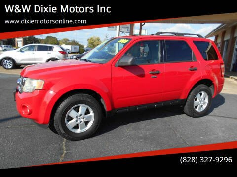 2009 Ford Escape for sale at W&W Dixie Motors Inc in Hickory NC