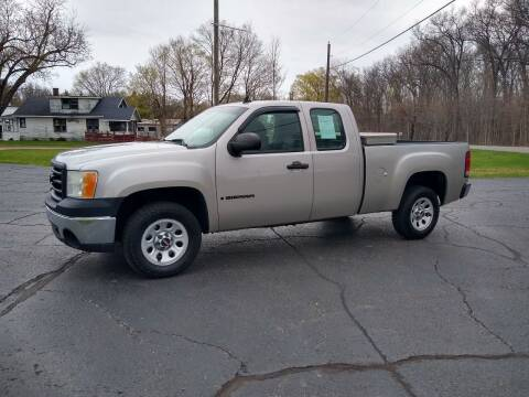 2007 GMC Sierra 1500 for sale at Depue Auto Sales Inc in Paw Paw MI