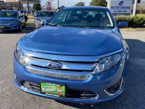 2010 Ford Fusion for sale at Auto Union LLC in Virginia Beach VA