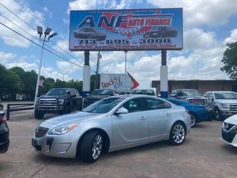 2017 Buick Regal for sale at ANF AUTO FINANCE in Houston TX