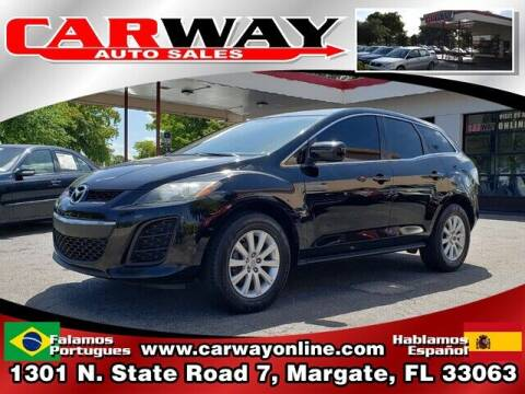 2010 Mazda CX-7 for sale at CARWAY Auto Sales in Margate FL