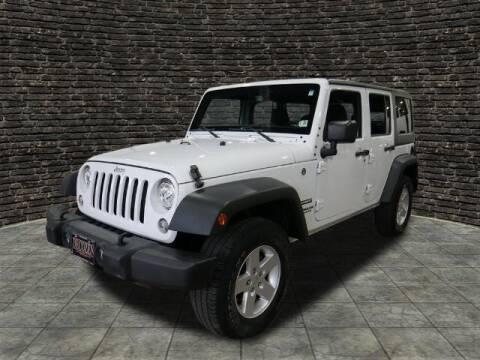 2017 Jeep Wrangler Unlimited for sale at Montclair Motor Car in Montclair NJ