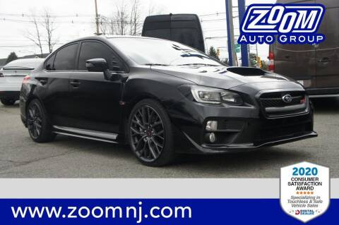 2017 Subaru WRX for sale at Zoom Auto Group in Parsippany NJ