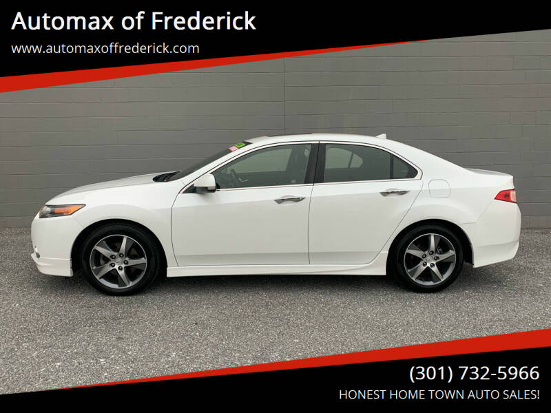 2013 Acura TSX for sale at Automax of Frederick in Frederick MD