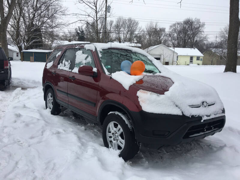 2002 Honda CR-V for sale at Antique Motors in Plymouth IN