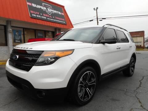 2013 Ford Explorer for sale at Super Sports & Imports in Jonesville NC