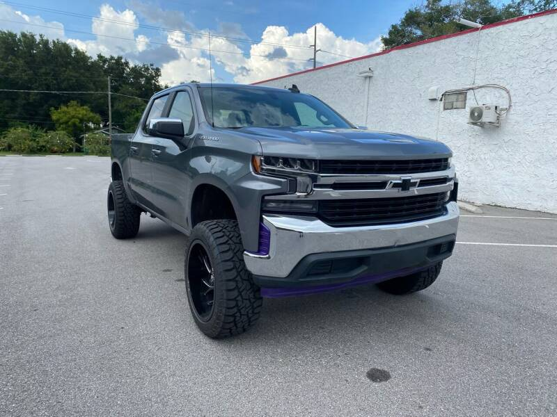 2019 Chevrolet Silverado 1500 for sale at LUXURY AUTO MALL in Tampa FL