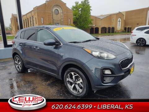 2020 Kia Sportage for sale at Lewis Chevrolet Buick of Liberal in Liberal KS