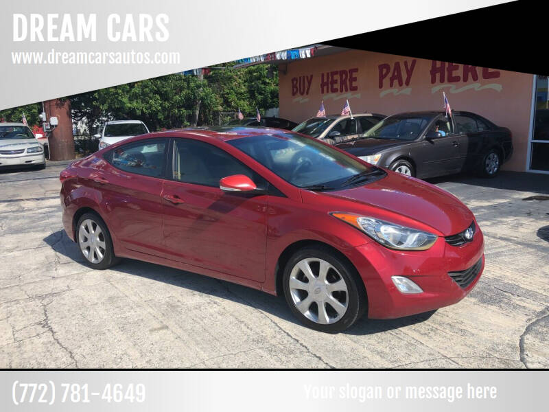 2012 Hyundai Elantra for sale at DREAM CARS in Stuart FL