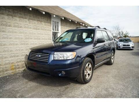 2006 Subaru Forester for sale at Cj king of car loans/JJ's Best Auto Sales in Troy MI