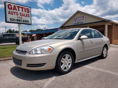 2012 Chevrolet Impala for sale at Gattis Auto Sales LLC in Winchester TN