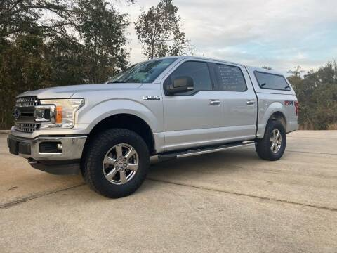 2018 Ford F-150 for sale at A & H Auto Sales in Clanton AL