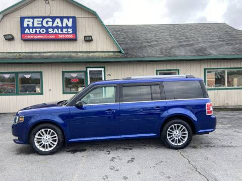 2013 Ford Flex for sale at Mark Regan Auto Sales in Oswego NY