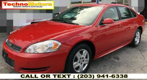 2010 Chevrolet Impala for sale at Techno Motors in Danbury CT