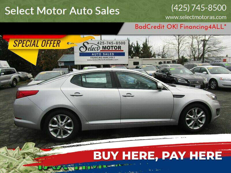 2013 Kia Optima for sale at Select Motor Auto Sales in Lynnwood WA