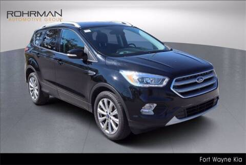 2017 Ford Escape for sale at BOB ROHRMAN FORT WAYNE TOYOTA in Fort Wayne IN