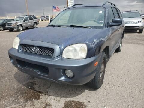 2004 Hyundai Santa Fe for sale at PYRAMID MOTORS - Pueblo Lot in Pueblo CO