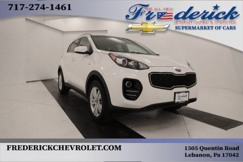 2018 Kia Sportage for sale at Lancaster Pre-Owned in Lancaster PA