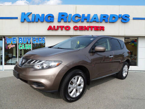 2012 Nissan Murano for sale at KING RICHARDS AUTO CENTER in East Providence RI