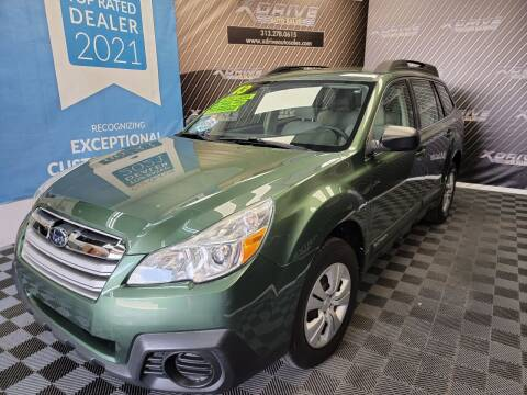 2013 Subaru Outback for sale at X Drive Auto Sales Inc. in Dearborn Heights MI