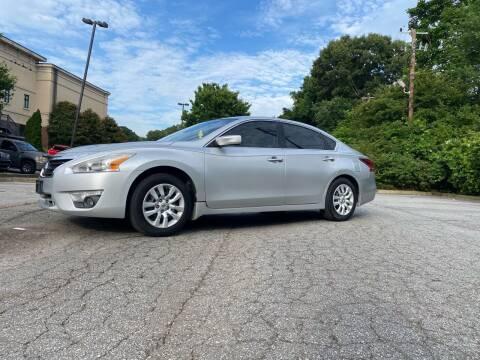 2014 Nissan Altima for sale at GTO United Auto Sales LLC in Lawrenceville GA