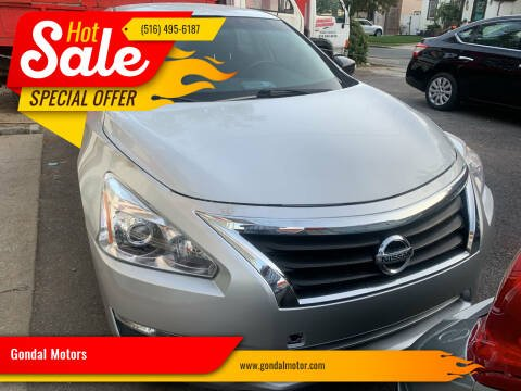 2013 Nissan Altima for sale at Gondal Motors in West Hempstead NY