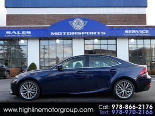 2014 Lexus IS 250 for sale at Highline Group Motorsports in Lowell MA