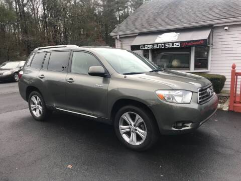 2008 Toyota Highlander for sale at Clear Auto Sales 2 in Dartmouth MA