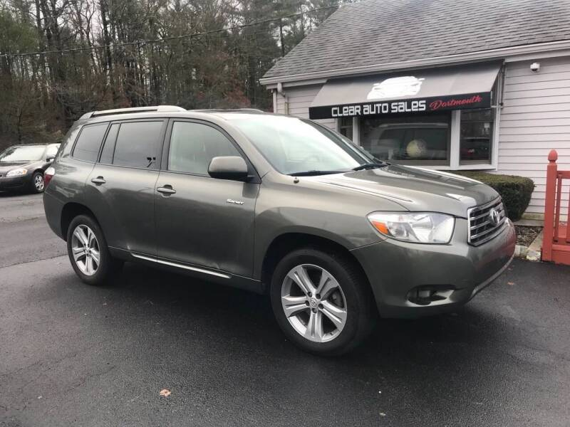 2008 Toyota Highlander for sale at Clear Auto Sales in Dartmouth MA