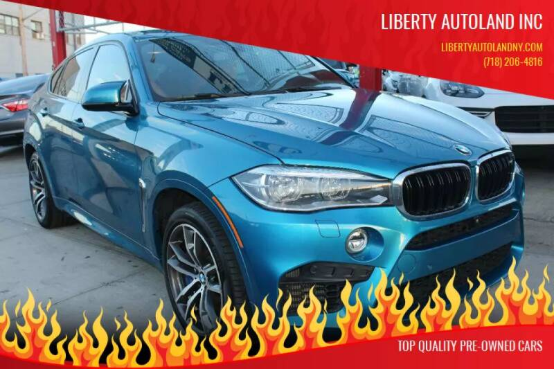 2015 BMW X6 M for sale at LIBERTY AUTOLAND INC in Jamaica NY