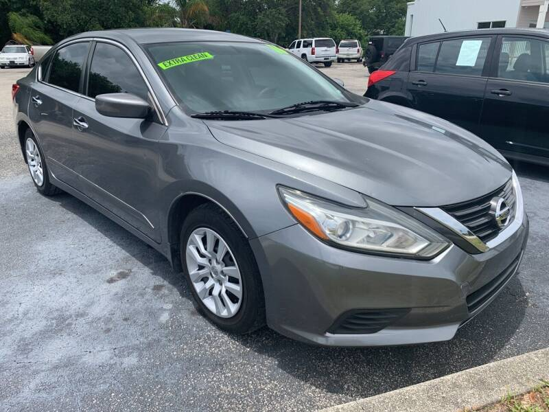2016 Nissan Altima for sale at The Car Connection Inc. in Palm Bay FL
