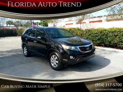 2012 Kia Sorento for sale at Florida Auto Trend in Plantation FL