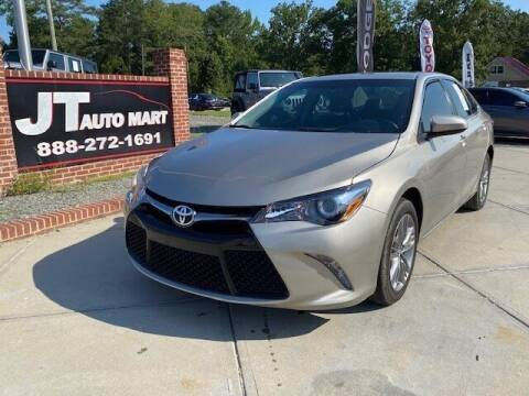 2017 Toyota Camry for sale at J T Auto Group in Sanford NC