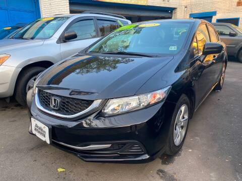 2015 Honda Civic for sale at DEALS ON WHEELS in Newark NJ