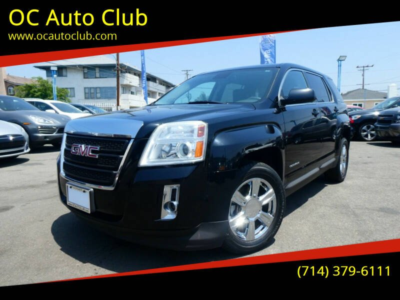 2014 GMC Terrain for sale at OC Auto Club in Midway City CA