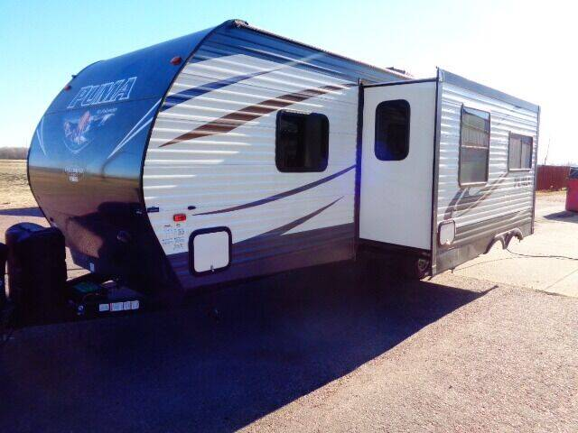 2017 SOLD SOLD SOLD Forest River PUMA 28RBQS for sale at Goldammer Auto in Tea SD