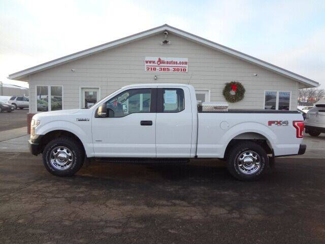 2016 Ford F-150 for sale at GIBB'S 10 SALES LLC in New York Mills MN